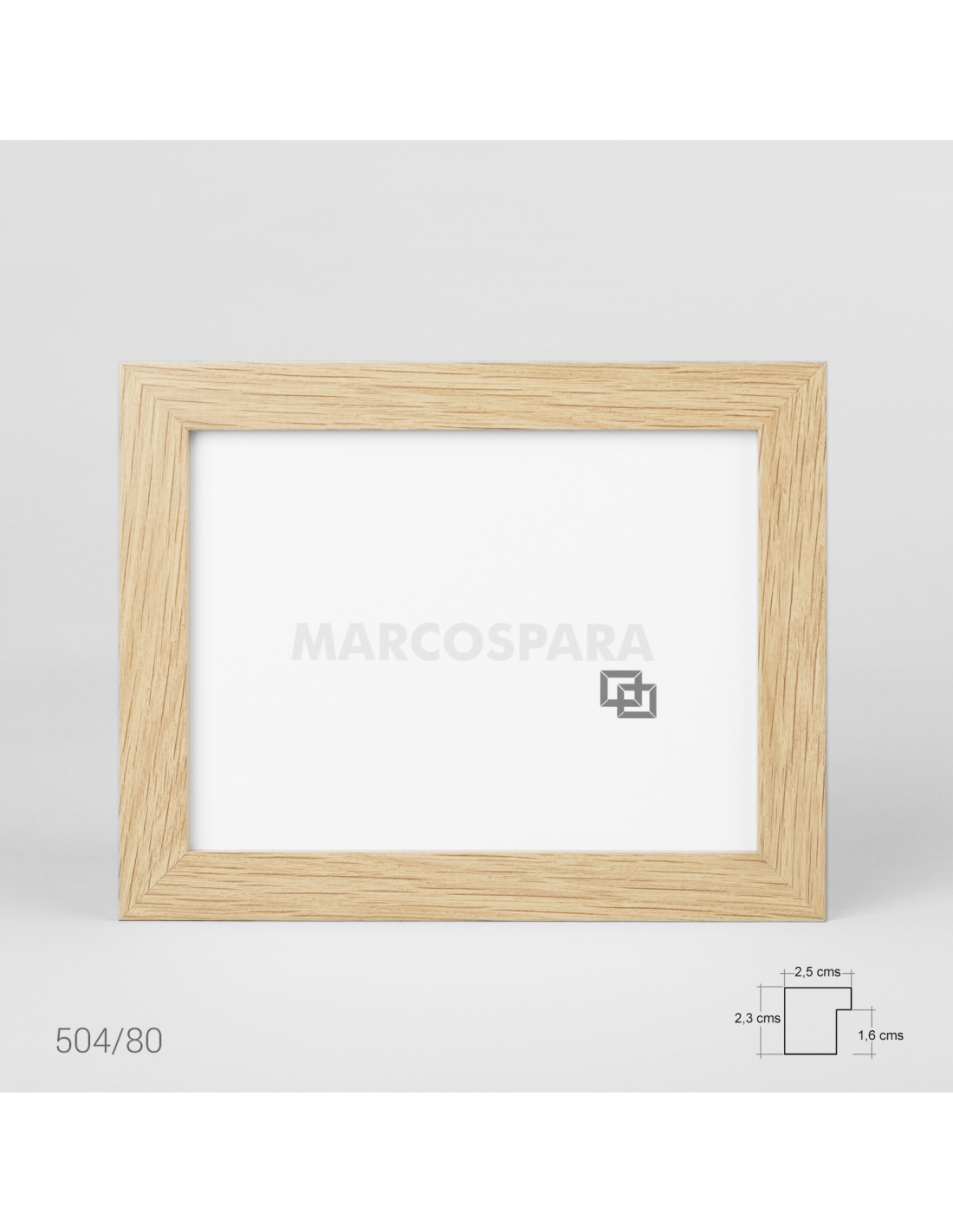 Marcos de madera para posters M504
